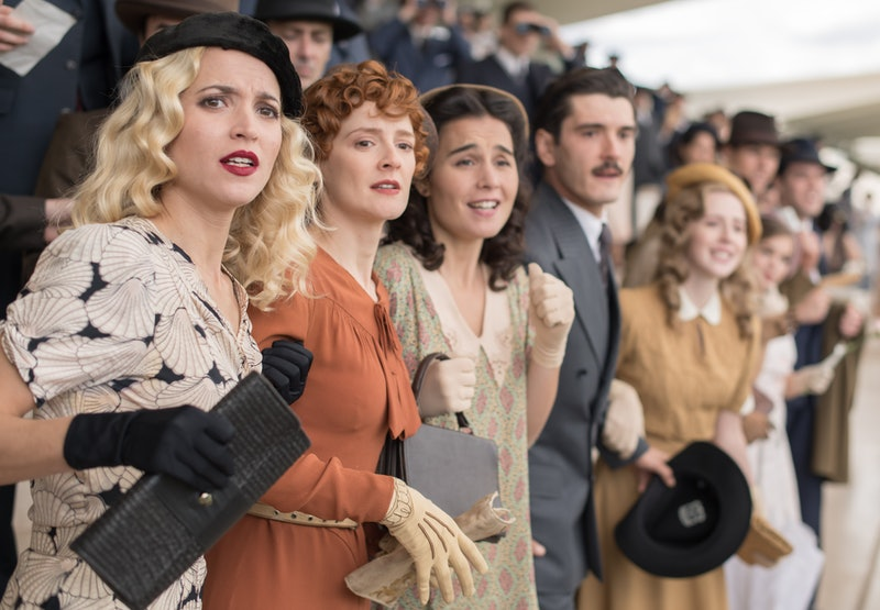 The Cable Girls in the final season of the show, via Netflix press site.