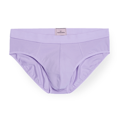 Lilac Pouch Front Brief