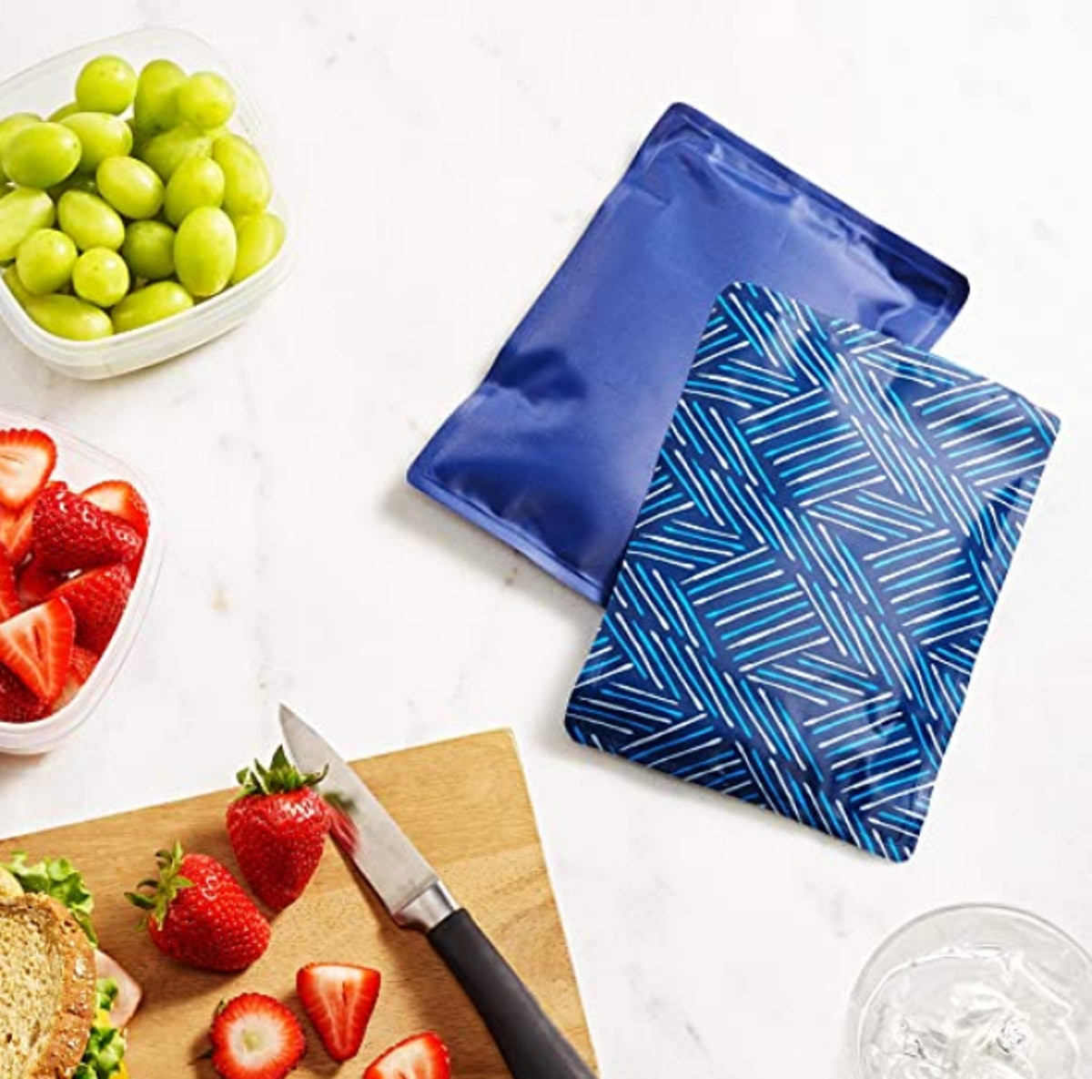 Fit & Fresh Flexible Ice Packs (2 Pieces)