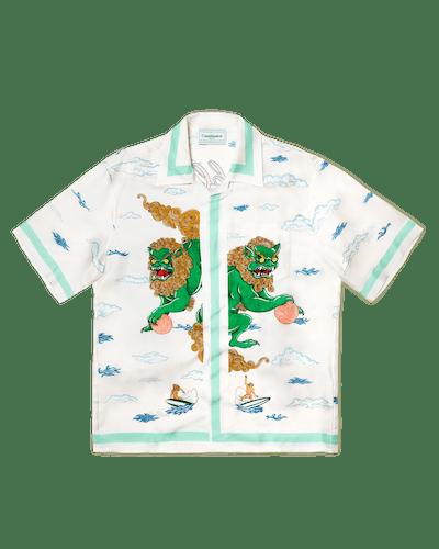Souvenir De L'Archipel Silk Shirt
