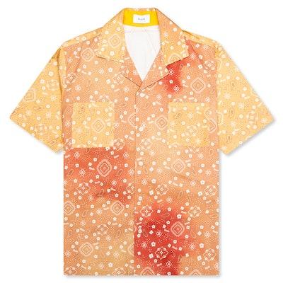 Bandana Print Classic Point Shirt