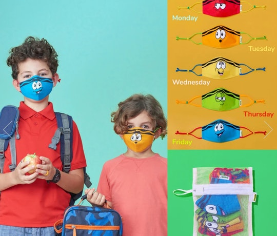 Crayola has come out with a comprehensive new school mask pack for kids and adults.