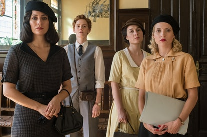 The women of Cable Girls team up for one last season, via Netflix press site.