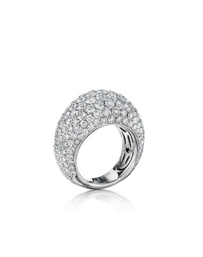 Bombe Diamond Ring