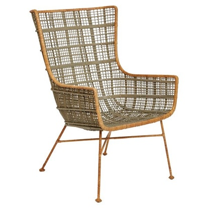 Erin Handwoven Wingback Chair