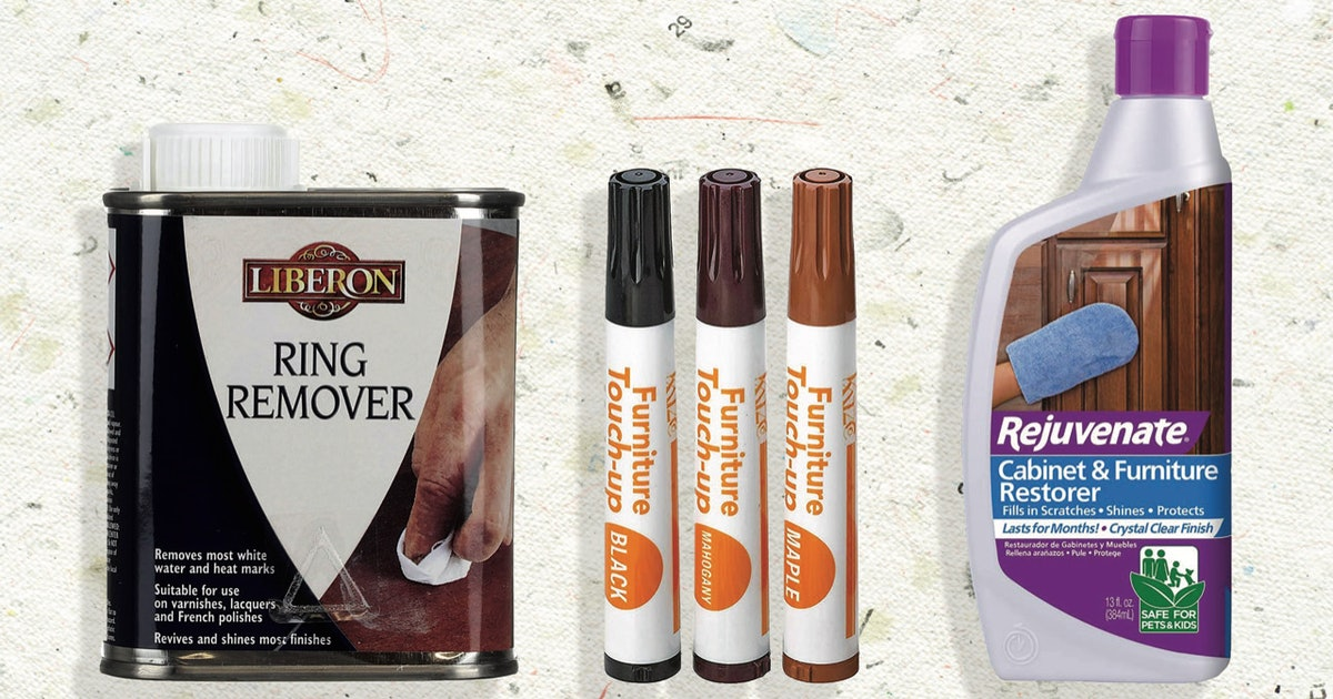These 8 Genius Products Get Rid Of Water Stains & Make Your Wood Look As Good As New