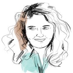 Illustration of Bustle's Editorial Director, Charlotte Owen