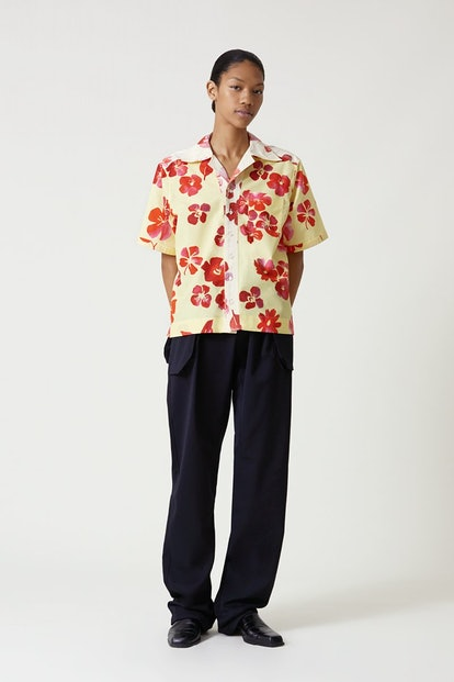 Havana Floral Bowling Shirt