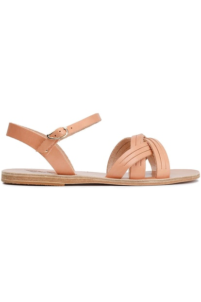Electra sliced leather sandals