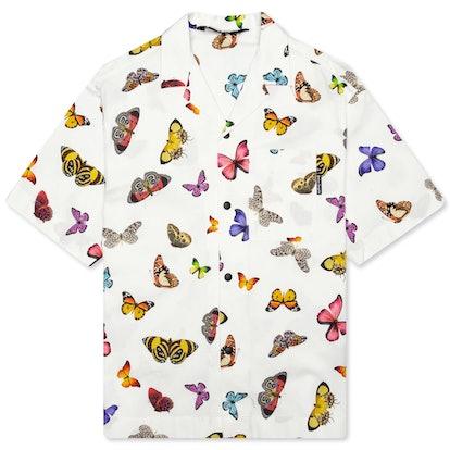 Butterflies Bowling Shirt