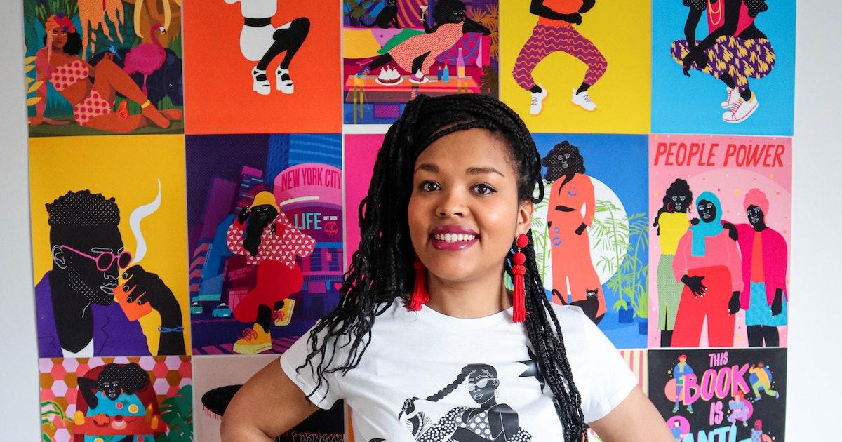This Artist's Bold Illustrations Celebrating Diversity Have Beyoncé's Stamp Of Approval