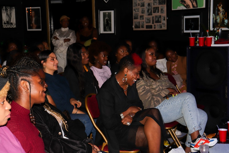Women at a Black Girls In Fashion Event