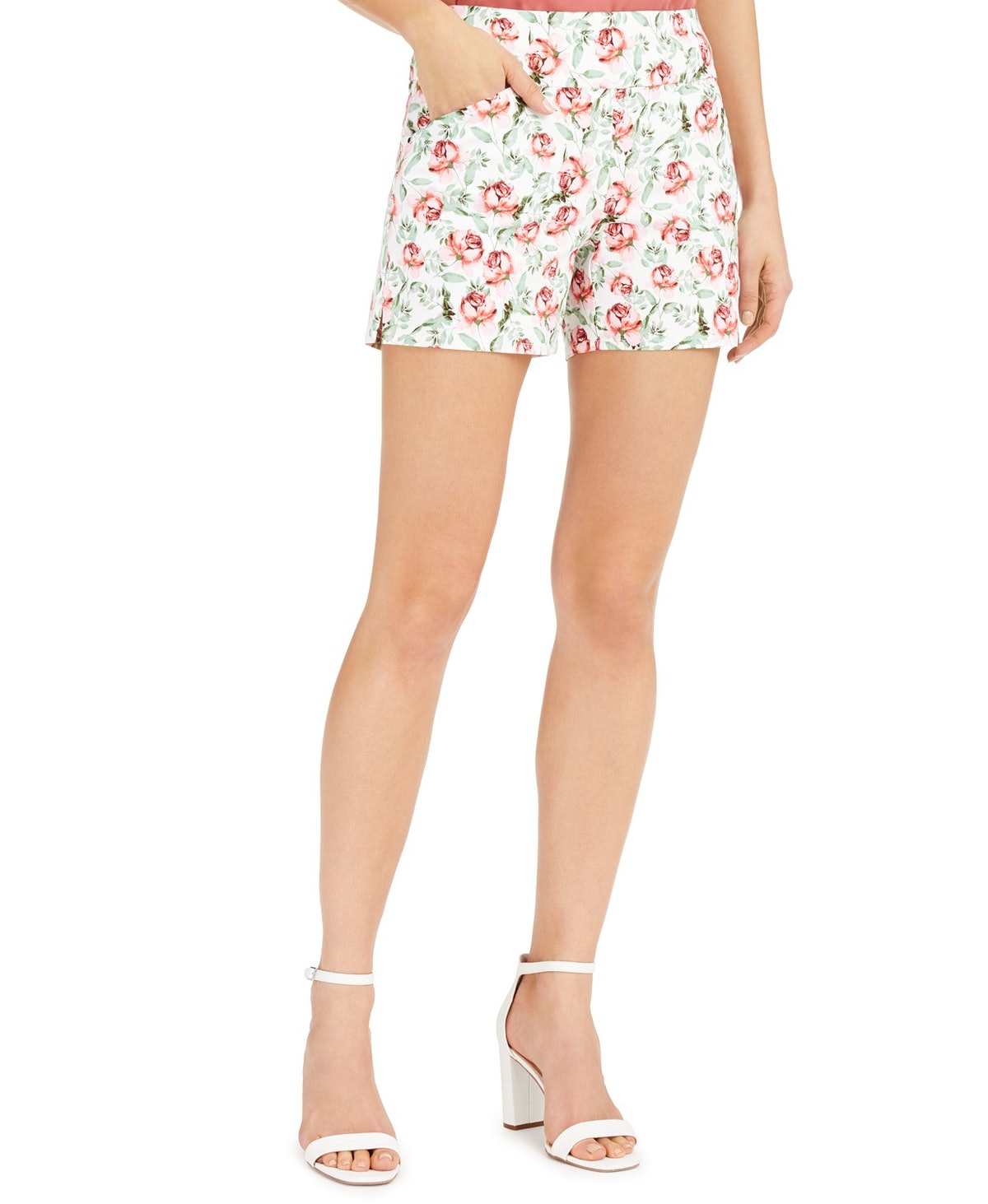INC Floral Shorts