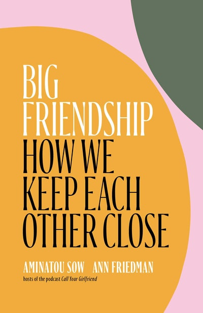 'Big Friendship: How We Keep Each Other Close' by Aminatou Sow and Ann Friedman