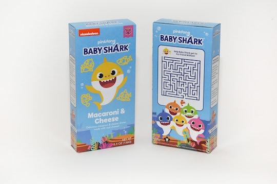 baby shark mac and cheese