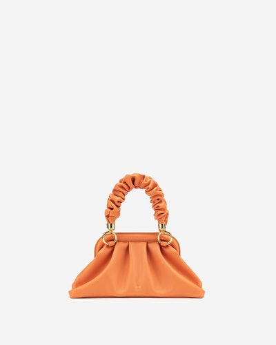 Cloud Top Handle Bag - Orange