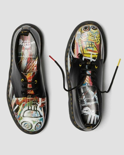 1461 Basquiat Leather Oxford Shoes