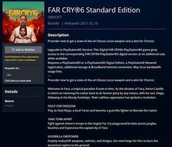 Far Cry 6 Leak Reveals Release Date Smart Delivery Giancarlo Esposito