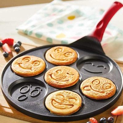 EZJOB Emoji Pancake Pan