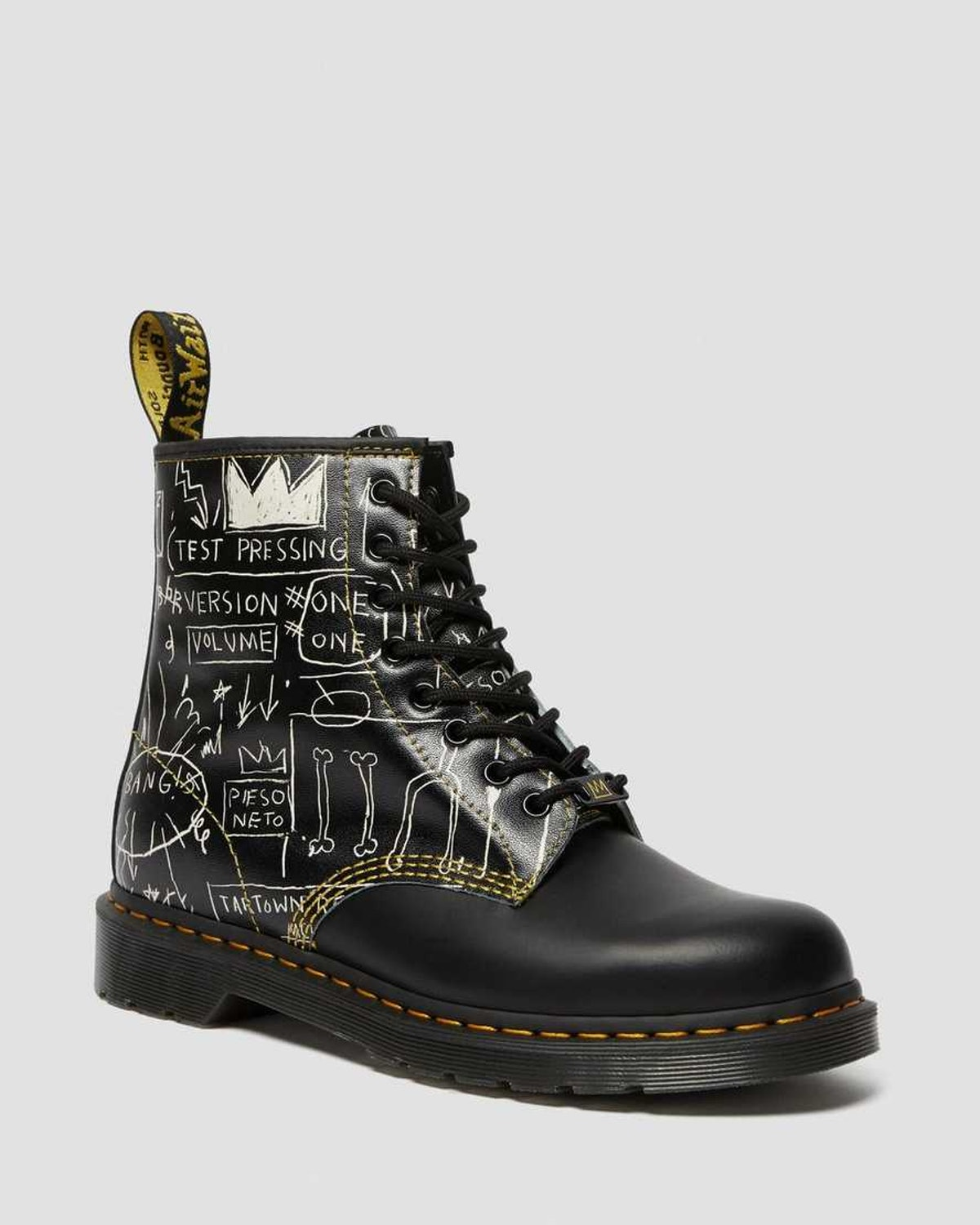 146 Basquiat Leather Lace Up Boots