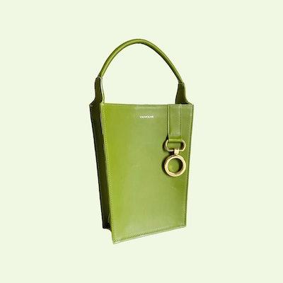 Mishe Pear Green Handbag