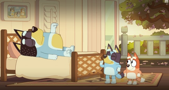 'Bluey' is full of jokes that parents can laugh along to.