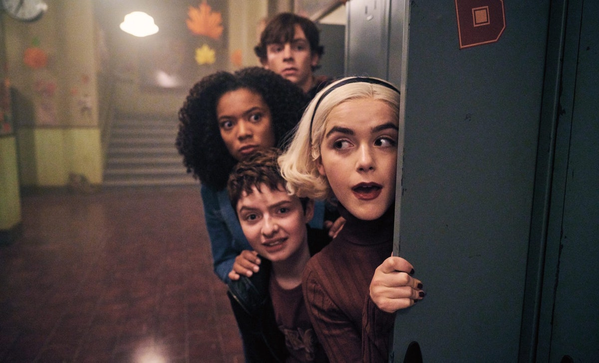'Chilling Adventures of Sabrina' Part 5 would have included a 'Riverdale' crossover, had it not been canceled.