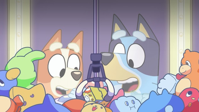 Bluey and her family know how to laugh