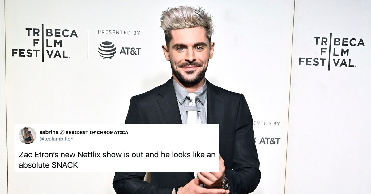 Twitter Is Absolutely Losing It Over Zac Efron's Rugged New Look In His Netflix Show
