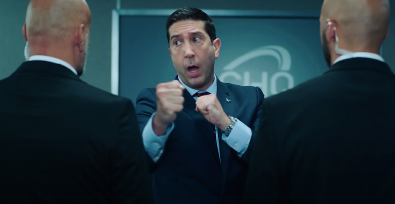 David Schwimmer stars in Peacock's new original series Intelligence.