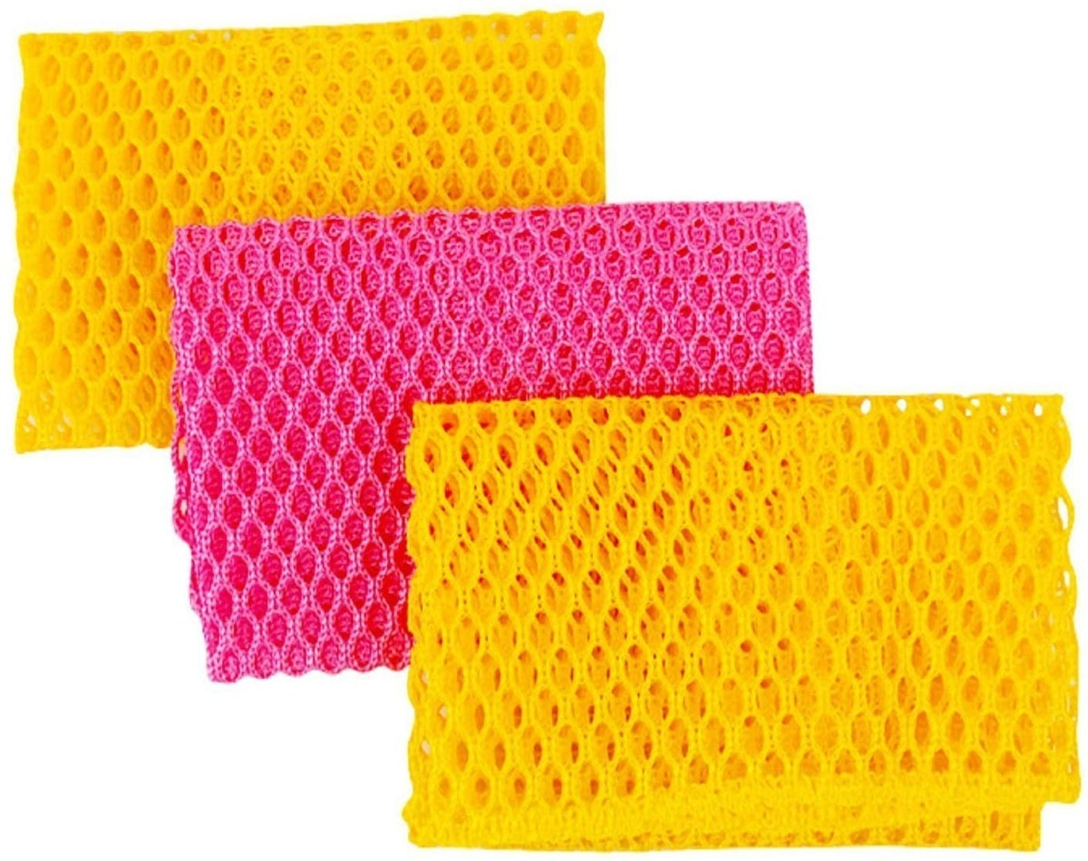 Top Clean Dish Washing Net Cloths (3-Pack)