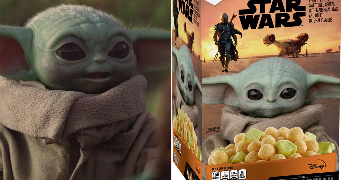 Baby Yoda Cereal Will Be Available At Sam's Club Soon For Every 'Star Wars' Superfan