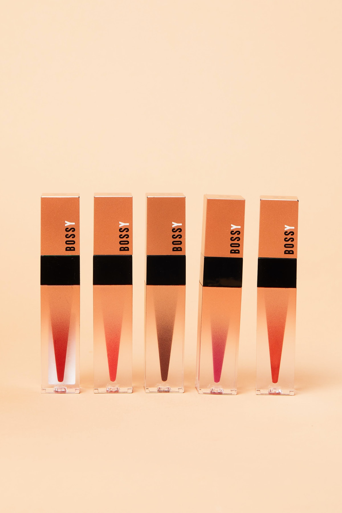 Bossy Cosmetics' Power Woman Essentials Collection has five new liquid lipsticks