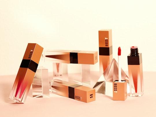 Bossy Cosmetics' Power Woman Essentials Collection includes five liquid lipsticks