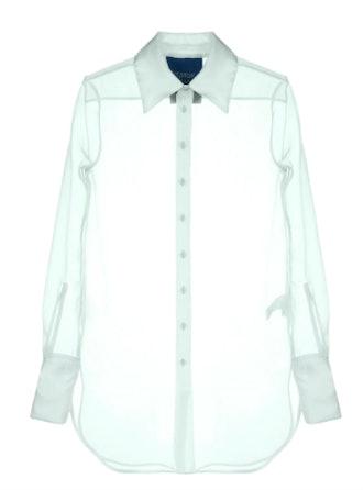 Sheer Longline Shirt