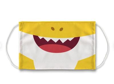 Baby Shark Sublimation Face Mask