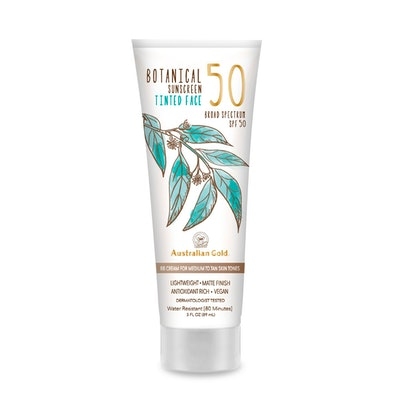 Botanical SPF 50 Tinted Face Sunscreen Lotion