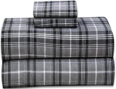 Ruvanti Flannel Sheets (4 Pieces)