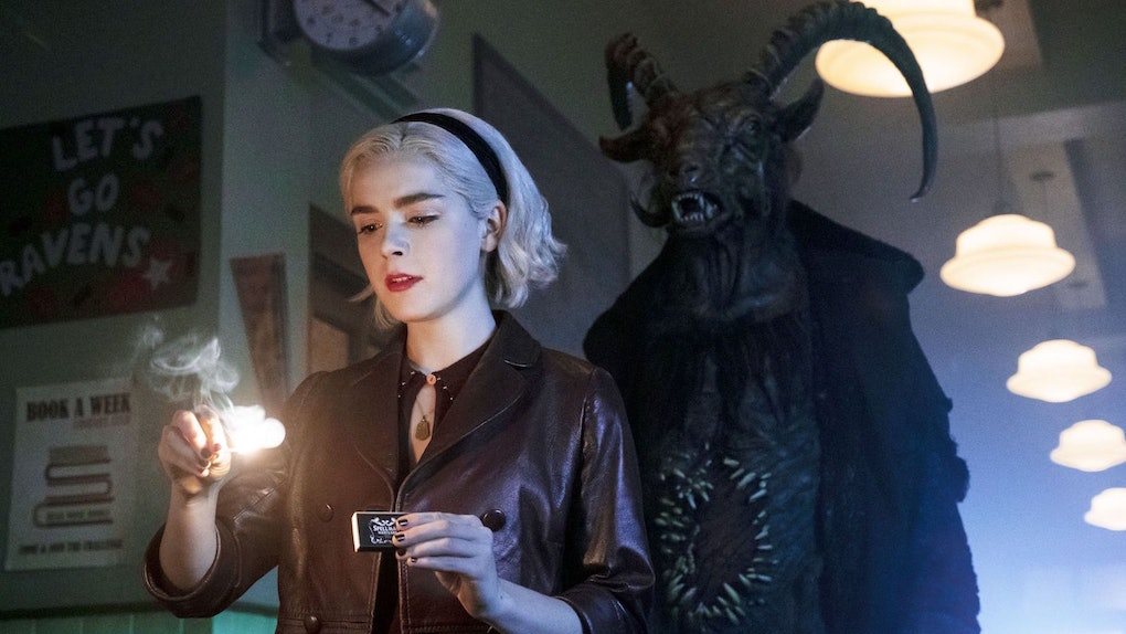 A petition to save 'Chilling Adventures of Sabrina' has reached almost 100,000 signatures.