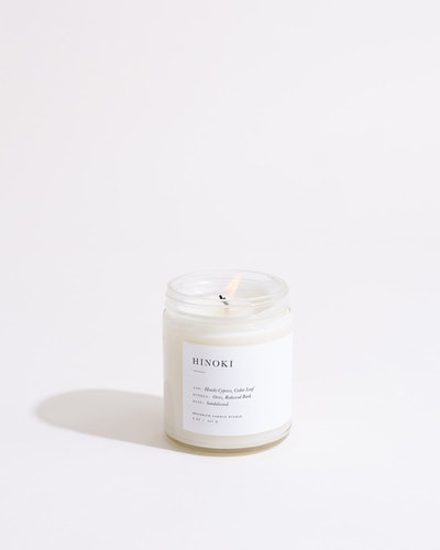 Hinoki Minimalist Candle