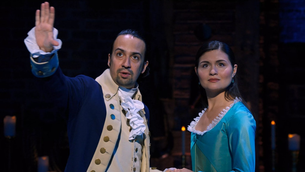 Eliza's gasp at the end of 'Hamilton' has inspired so many theories.