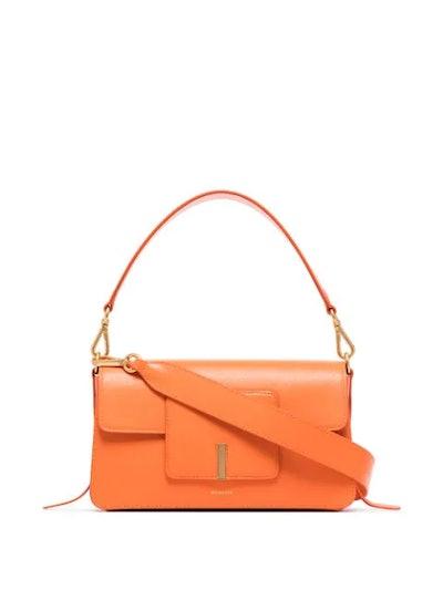 Georgia leather shoulder bag
