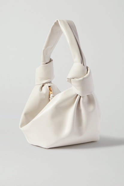 Jodie Mini Knotted Leather Tote