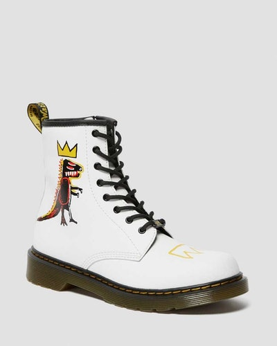 Youth 1460 Basquiat Leather Lace Up Boots