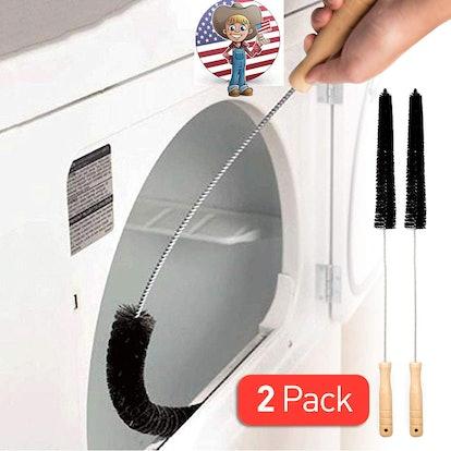 Holikme Dryer Vent Cleaner Brush (2-Pack)