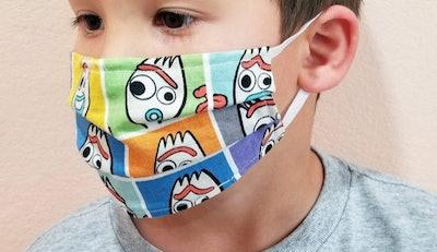 Kids Forky Face Mask