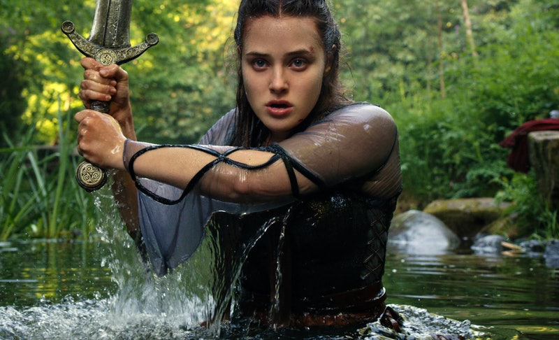 Katherine Langford in Netflix's 'Cursed'