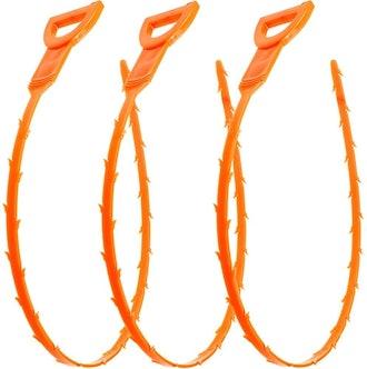 Vastar Drain Snake Hair Drain Clog Remover, 3 Pack