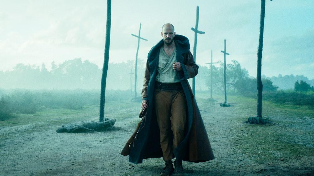 Gustaf Skarsgård as Merlin In 'Cursed'