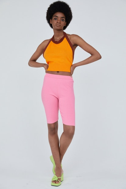 Knitted Biker Shorts